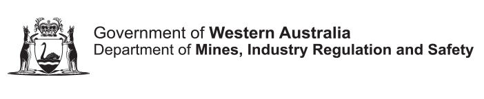 Department of Mines, Industry Regulation and Safety logo