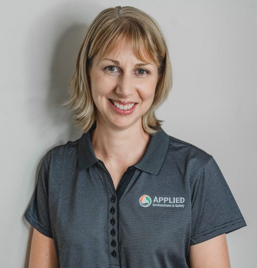 Profile photo of Melanie wearing AES shirt